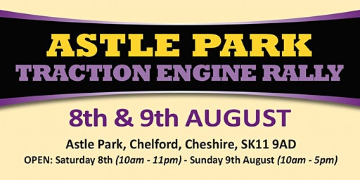 Astle Park Traction Engine Rally 2020 (Public Caravan/Motorhome/Camping)