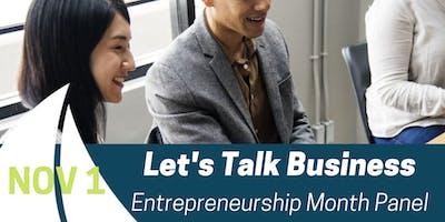 November Let's Talk Business | Portsmouth Economic Development Series