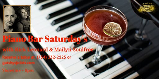 Piano Bar Saturday's with Rick & Mailyn