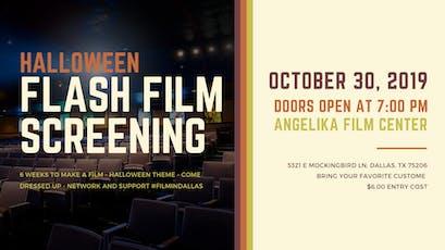Flash Film Screening - Halloween Films! tickets