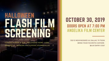 Flash Film Screening - Halloween Films!