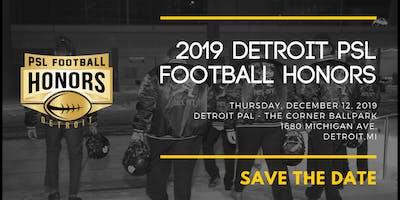 4th Annual Detroit - PSL Football Honors Awards Dinner