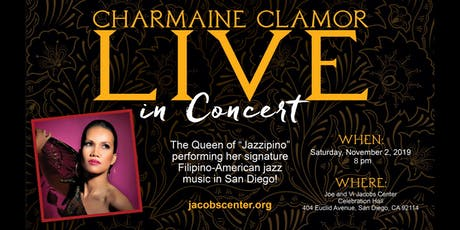 Jacobs Presents: Charmaine Clamor Live in Concert tickets