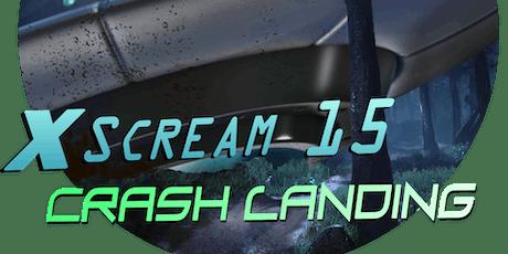 X-Scream Halloween 15 tickets