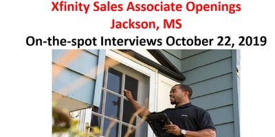 Xfinity Sales Associate Openings  Jackson, MS