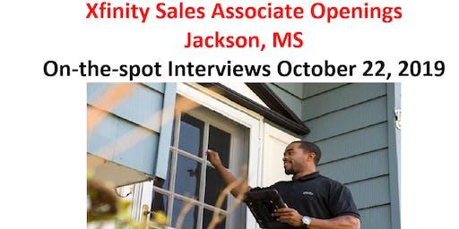 Xfinity Sales Associate Openings  Jackson, MS