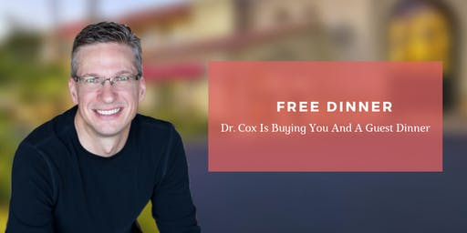 Natural Health Solutions | FREE Dinner Event with Dr. Chris Cox, DC