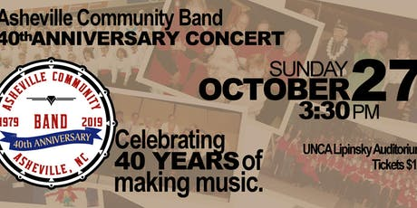 Asheville Community Band 40th Anniversary Concert tickets
