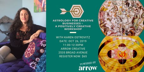 Astrology for Creative Businesses - A Positively Creative Workshop tickets