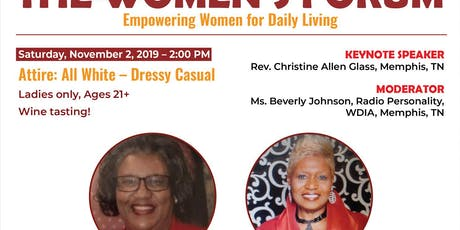 The Women's Forum; Empowering Women for Daily Living tickets