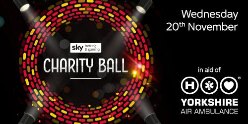 Sky Betting & Gaming Charity Ball in aid of the Yorkshire Air Ambulance