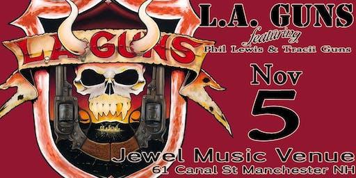 L.A. GUNS, featuring Phil Lewis & Tracii Guns