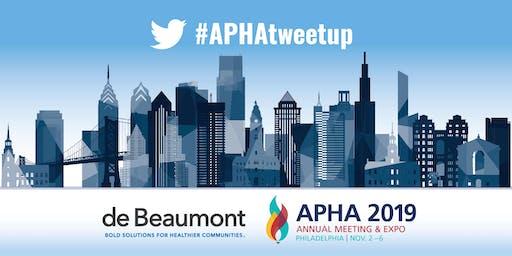 APHA 2019 Sunset Tweetup