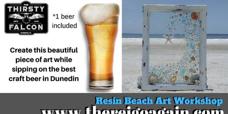 Resin Beach Art Workshop - Dunedin FL tickets