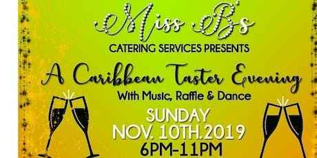 CARIBBEAN TASTER EVENING  tickets