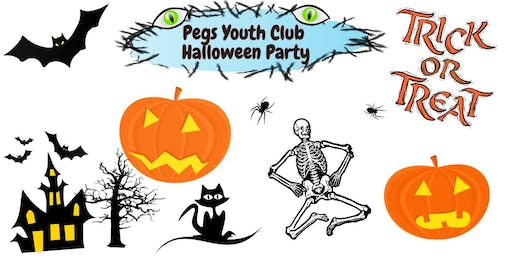 Halloween Party for Pegs Youth Club & Siblings [£2.50] by Pegs Youth Crew