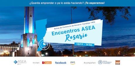 Encuentros ASEA Rosario | 12/11 entradas