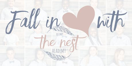 Fall in Love with The Nest Academy! tickets