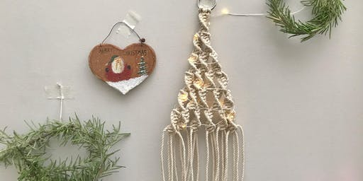 Macrame Christmas Tree @Alresford Linen