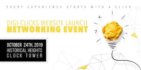 Digi-Clicks Website Launch/Networking  tickets