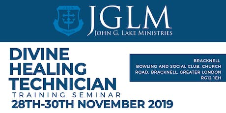 John G. Lake Ministries Divine Healing Technician  tickets