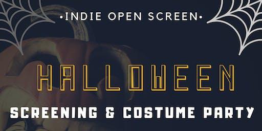 Indie Open Screen Halloween Party