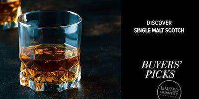 Discover Single Malt Scotch with Spirits Buyer, Jennifer Katona (SOLD OUT)