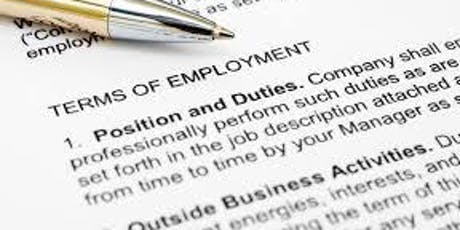 Workshop 2: The importance of employment contracts and why your employment contracts and policies may need a reboot….. tickets