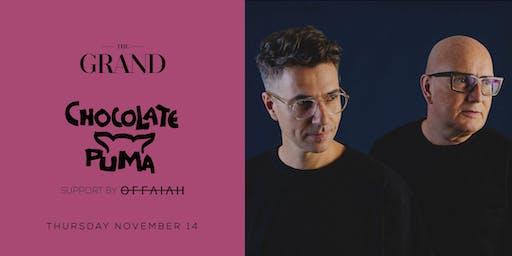 Chocolate Puma | The Grand Boston 11.14.19