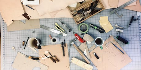 LEATHER WORK - Make a case for cellphone, knife, scissors... tickets