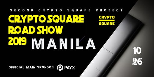 Crypto Square Roadshow 2019 Manila
