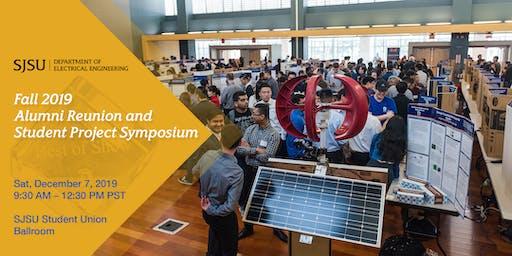 SJSU EE Fall 2019 Alumni Reunion and Student Project Symposium