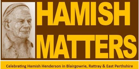 Children's Events in Blairgowrie Library for Hamish Matters tickets