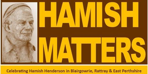 Children's Events in Blairgowrie Library for Hamish Matters