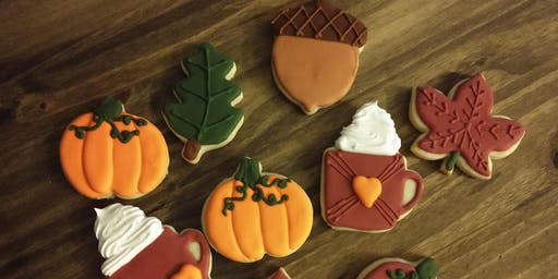 Fall Cookie Decorating Class!