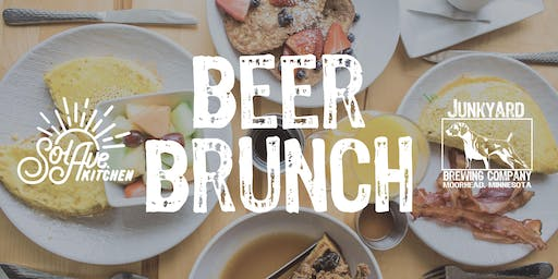 Beer Brunch with Sol Ave. Kitchen Oct. 27th at Junkyard Brewing Co.