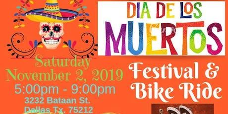 West Dallas Dia De Los Muertos Festival & Bike Ride tickets