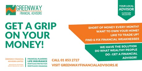 Get a grip on your money - financial advice for everyone tickets