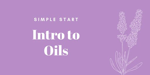 Simple Starts: Intro to Oils