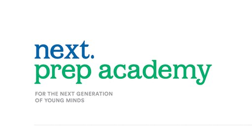 Next Prep Academy Open House - October 26
