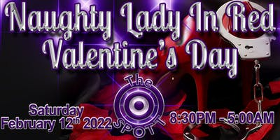 Naughty Lady in Red Valentines Day Party at The SPOTT