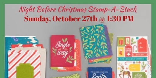 Night Before Christmas Stamp-A-Stack