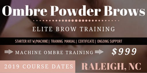 Ombre Brows Training with PMU Machine