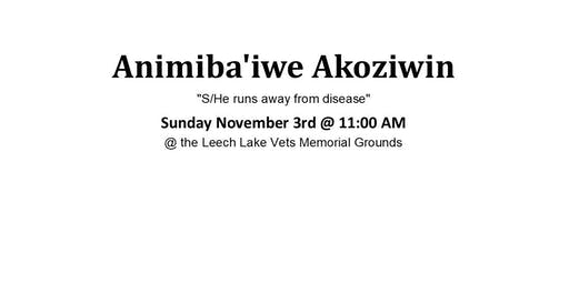 Animiba'iwe Akoziwin Walk/Run