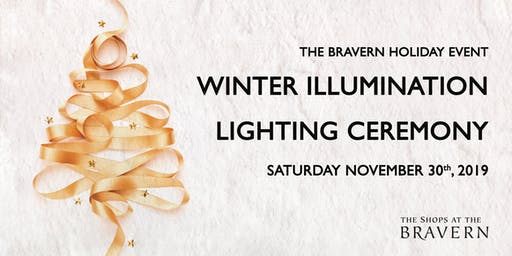 The Bravern Winter Illumination Holiday Lighting Ceremony