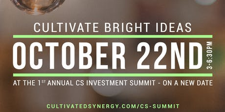 The CS Investment Summit tickets
