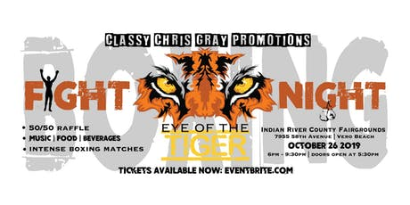 Vero's Eye of the Tiger - Boxing tickets