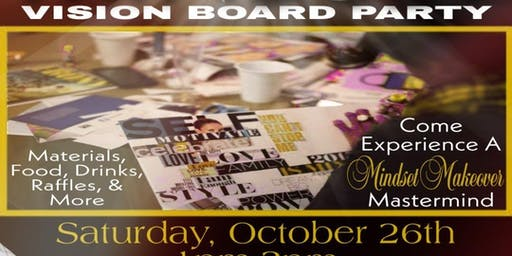 Million Dollar Mindset Vision Board Party