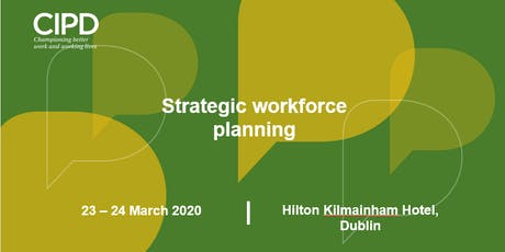 Strategic Workforce Planning  tickets