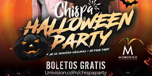 CHISPA HALLOWEEN PARTY- Free